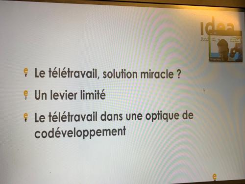 Webinaire Quo vadis Grande Région - Télétravail transfrontalier : une solution miracle ?